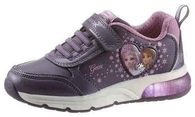 Geox Kids »J Spaceclub Girl Blinkschuh« Sneaker mit Blinkfunktion