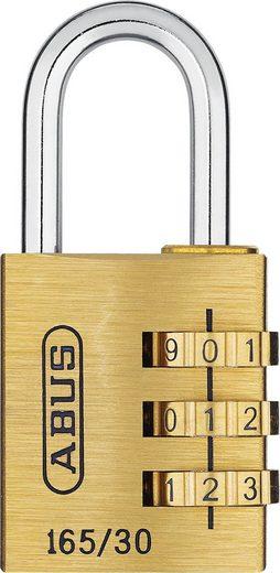 ABUS Vorhängeschloss »165/30-40 B/SB«, mit individuell einstellbarem Zahlencode und Stahlbügel