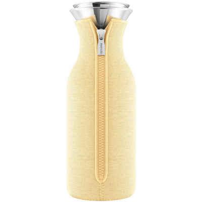 Eva Solo Wasserkaraffe »Eva Solo Kühlschrankkaraffe mit Anzug Woven Leomon drop / gelb 1,0 Liter«