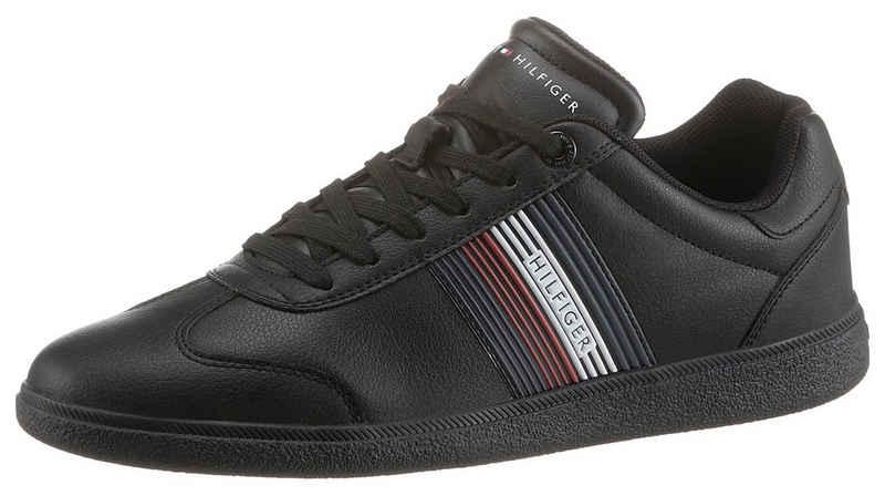 Tommy Hilfiger »CORE CORPORATE LEATHER CUPSOLE« Sneaker mit seitlichen Streifen