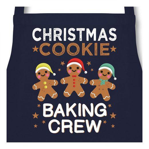 Shirtracer Grillschürze »Christmas Cookie Baking Crew - 3 Kekse - Kochschürze«