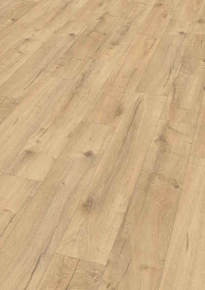 EGGER Laminat »Loja Eiche natur«, 8mm, 1,995m², authentische Holzoptik, universell einsetzbar