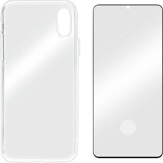Displex »Real Glass 3D + Case für Samsung Galaxy S20« für Samsung Galaxy S20, Displayschutzglas
