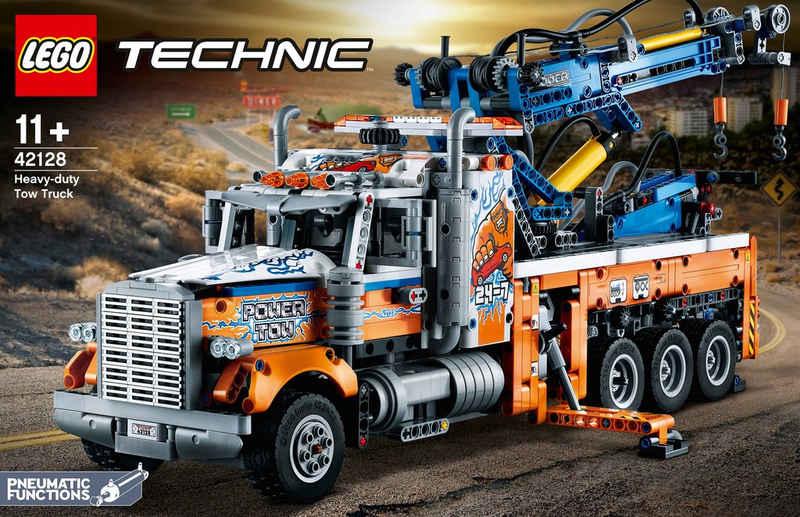LEGO® Konstruktionsspielsteine »Schwerlast-Abschleppwagen (42128), LEGO® Technic«, (2017 St), Made in Europe