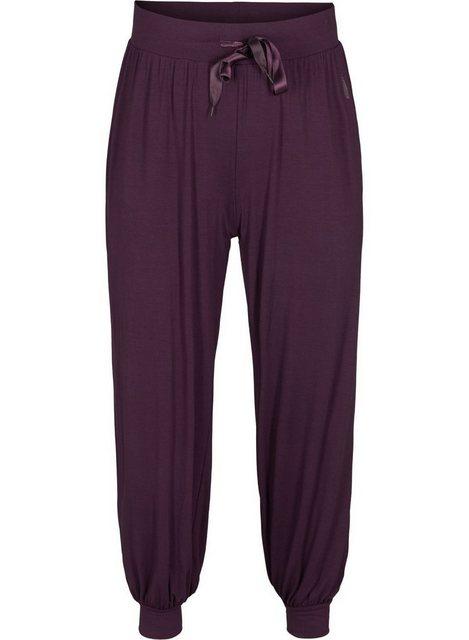 Hosen - Active by ZIZZI Trainingshose Große Größen Damen Lockere Hose aus Viskose ›  - Onlineshop OTTO
