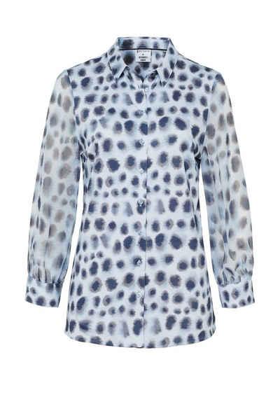 Desoto Shirtbluse »DESOTO Damen Bluse Pia mit Alloverprint und 3/4 Ärmeln - 41486«