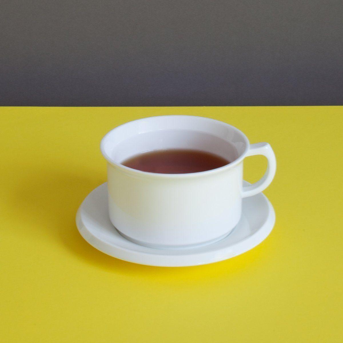 Sowden Sowden 4er-Set Teetassen mit Untertasse OSKAR