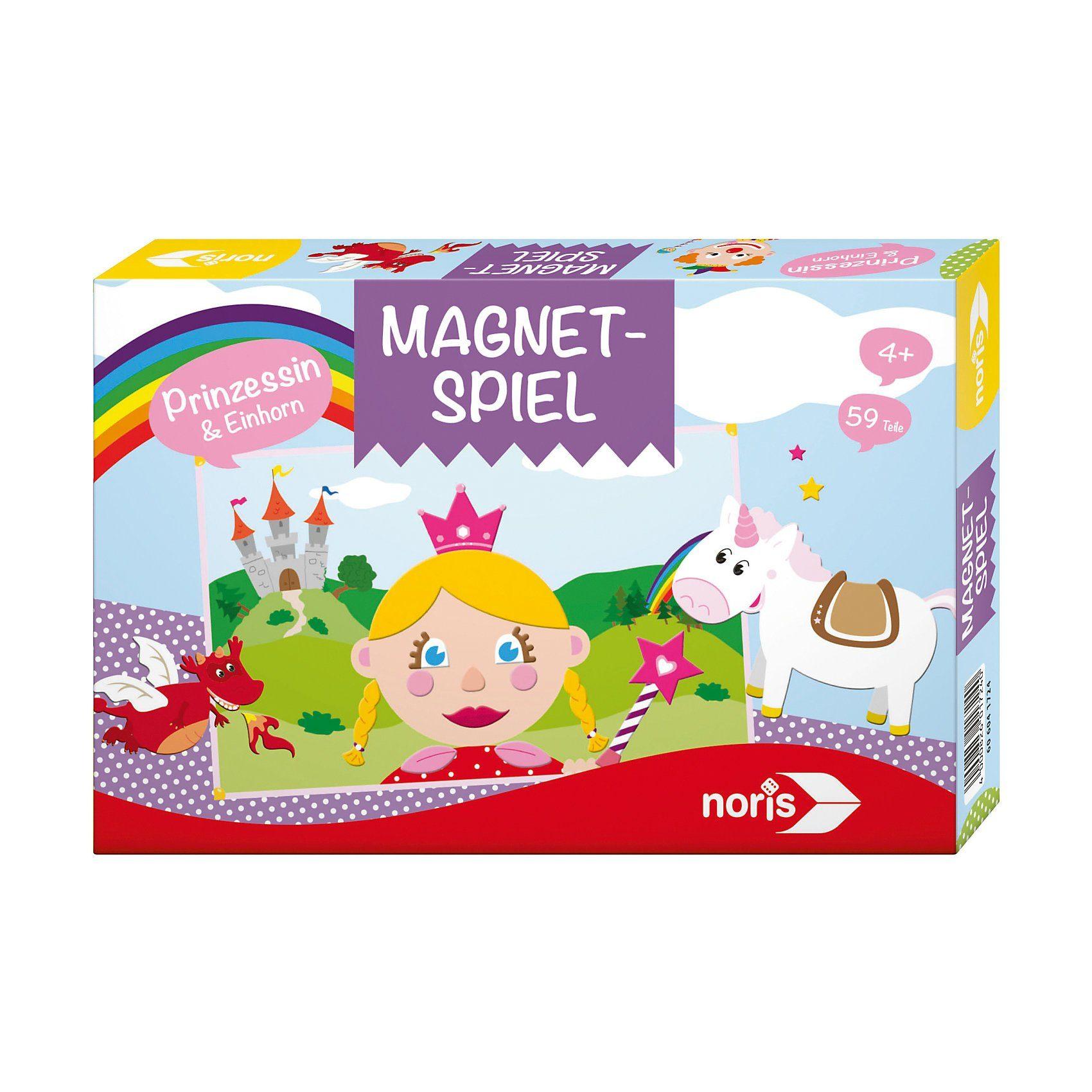 Noris Magnetspiel - Prinzessin und Einhorn