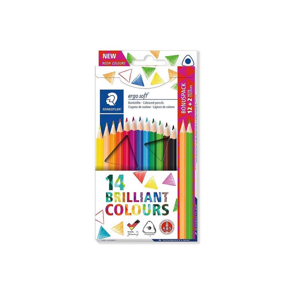 STAEDTLER Buntstifte ergo soft, 14 Farben kaufen