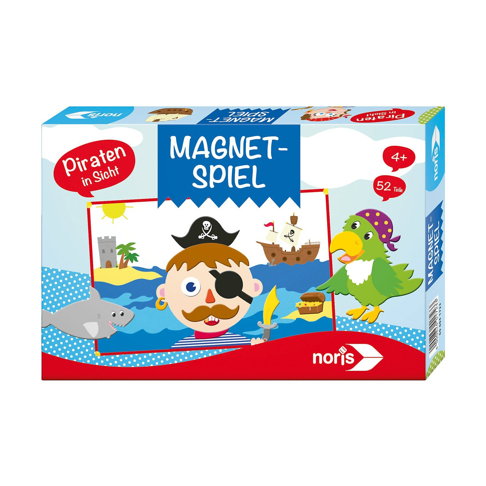 Noris Magnetspiel - Piraten in Sicht