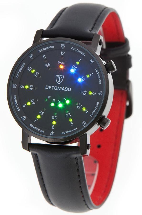 Detomaso Digitaluhr »SPACY TIMELINE 2«