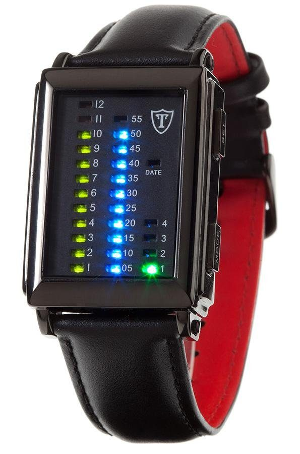 Detomaso Digitaluhr »SPACY TIMELINE 1«