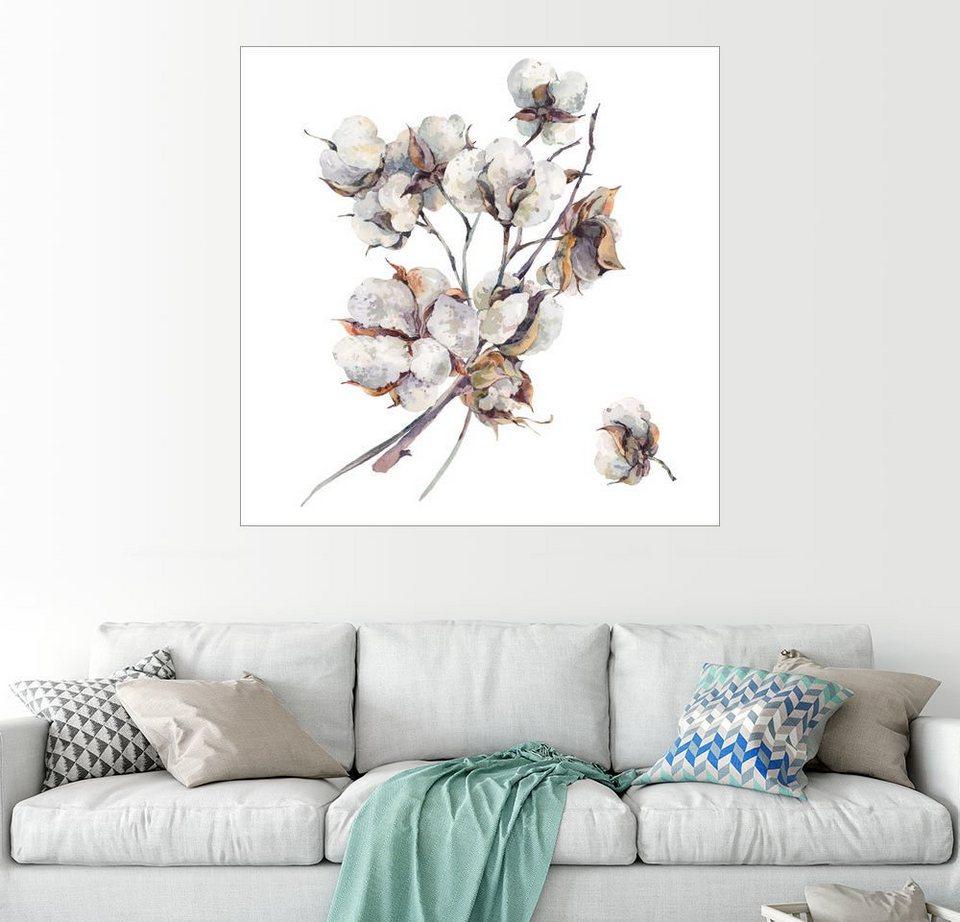 posterlounge wandbild baumwoll zweige kaufen otto. Black Bedroom Furniture Sets. Home Design Ideas