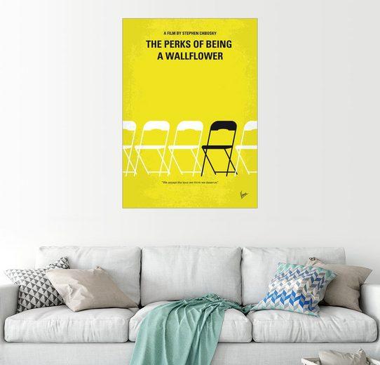 Posterlounge Wandbild - chungkong »No575 My Perks of Being a Wallflower minimal ...«