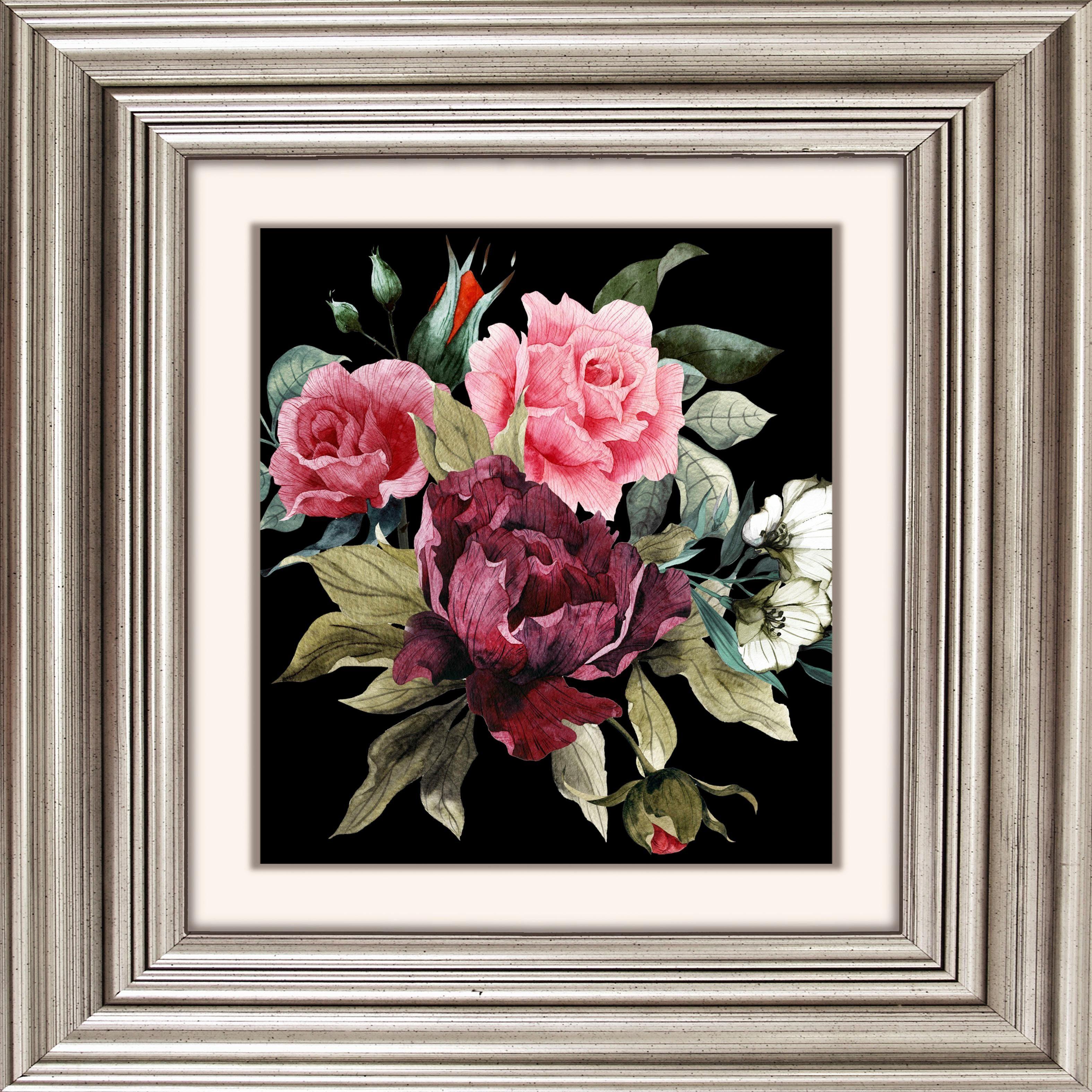 Acrylglasbild »Blüten I«
