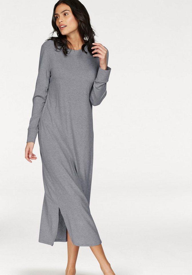 Calida Langes Schlafkleid in geradem Schnitt