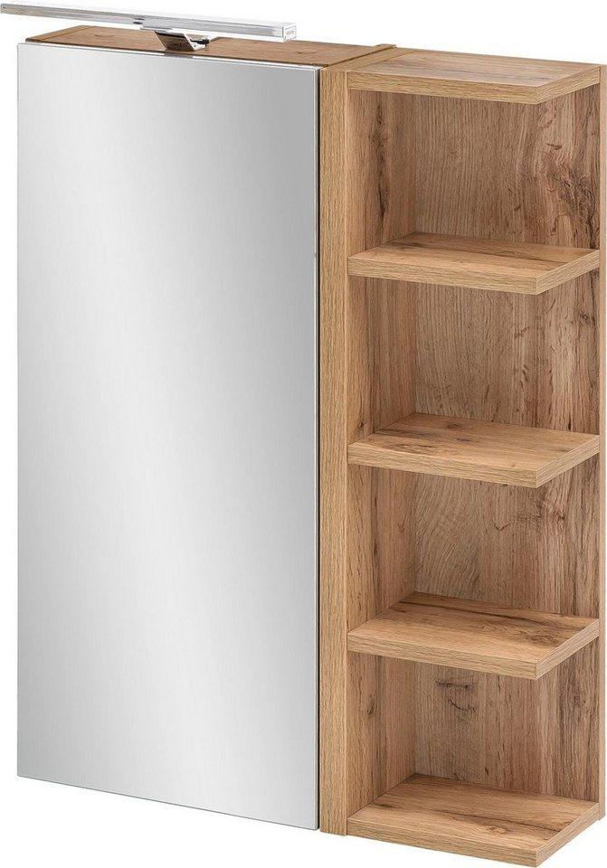 schildmeyer spiegelschrank esther mit led beleuchtung. Black Bedroom Furniture Sets. Home Design Ideas