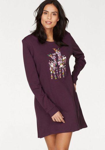 Triumph Nachthemd mit Blumen-Print