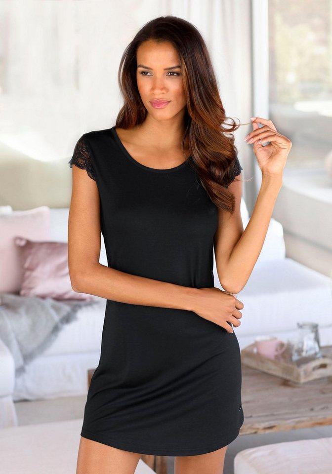 competitive price 468ca f2c01 LASCANA Nachthemd mit Spitzenärmeln online kaufen | OTTO