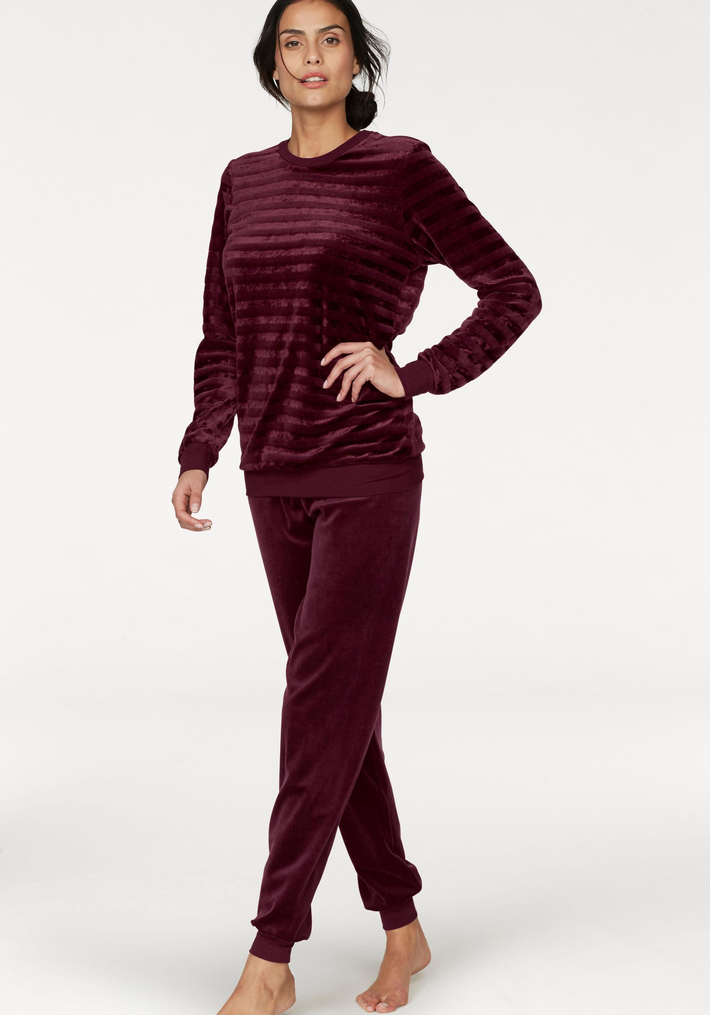 Calida Loungesuit aus Nicki in Streifenoptik