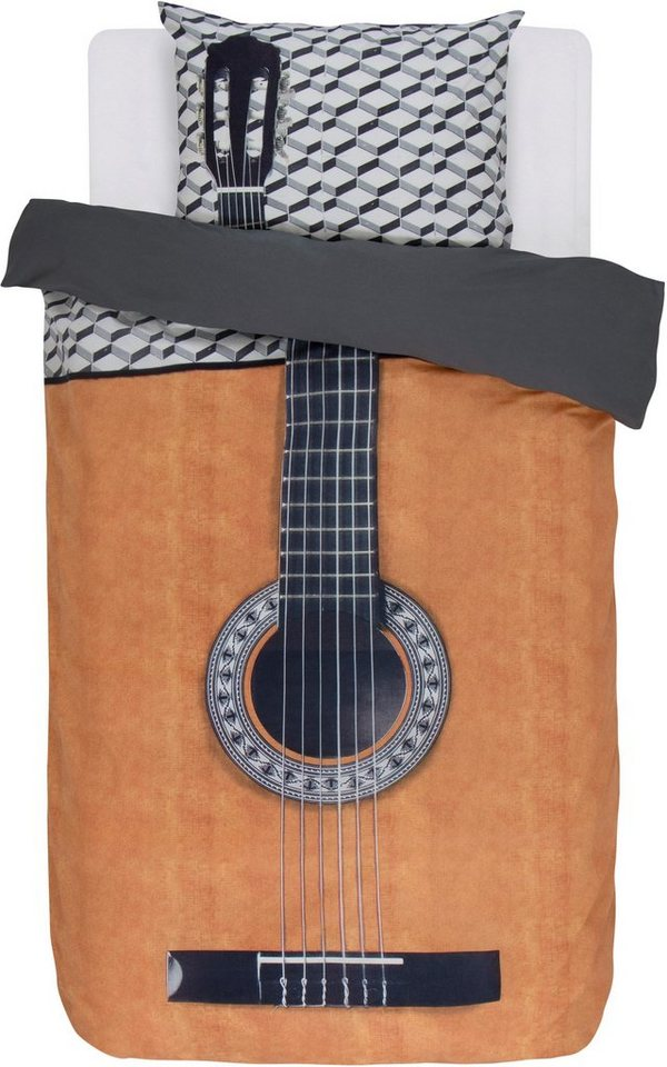 jugendbettw sche fado covers co mit einer gitarre. Black Bedroom Furniture Sets. Home Design Ideas