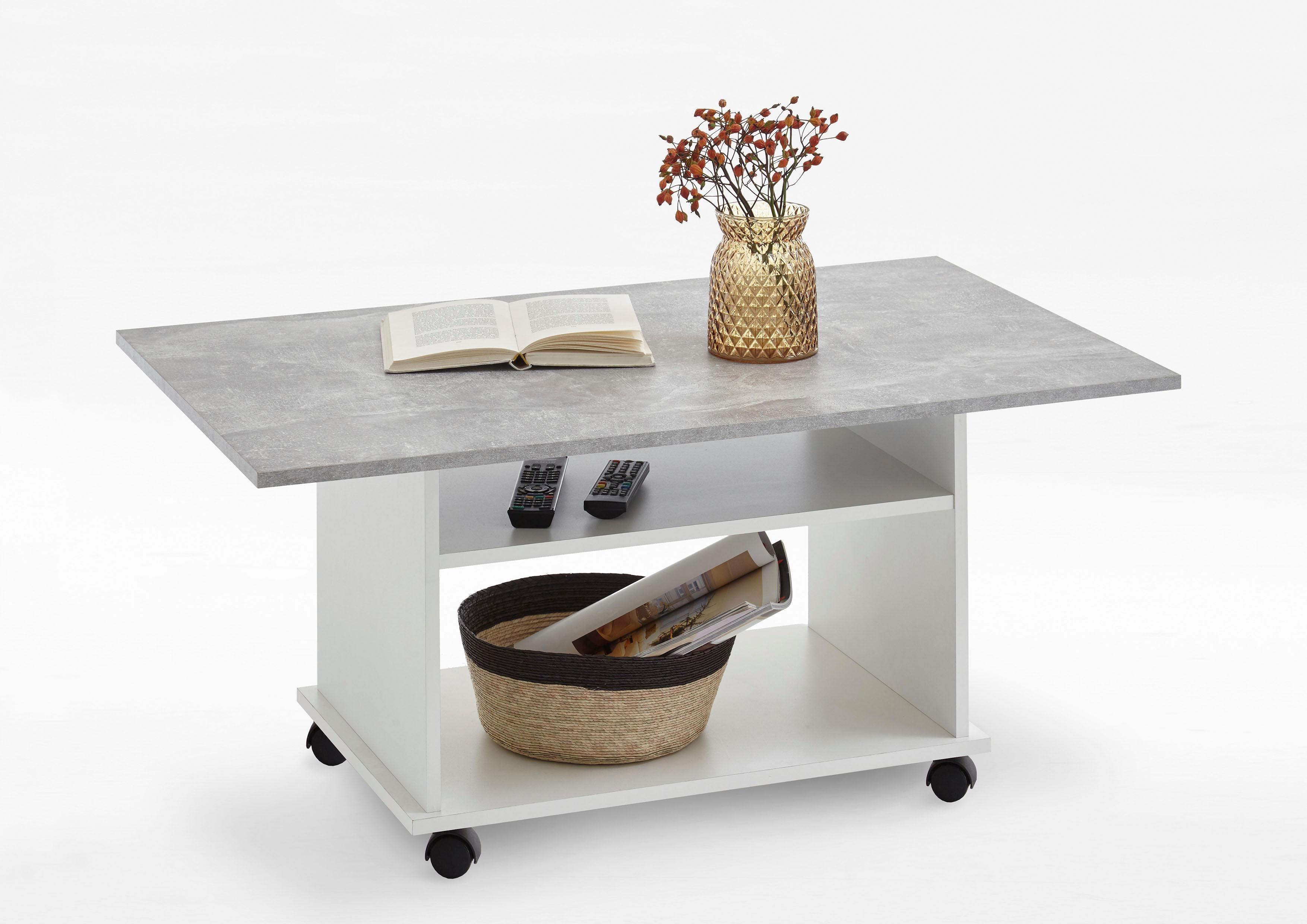 couchtisch mit rollen preisvergleich die besten angebote. Black Bedroom Furniture Sets. Home Design Ideas