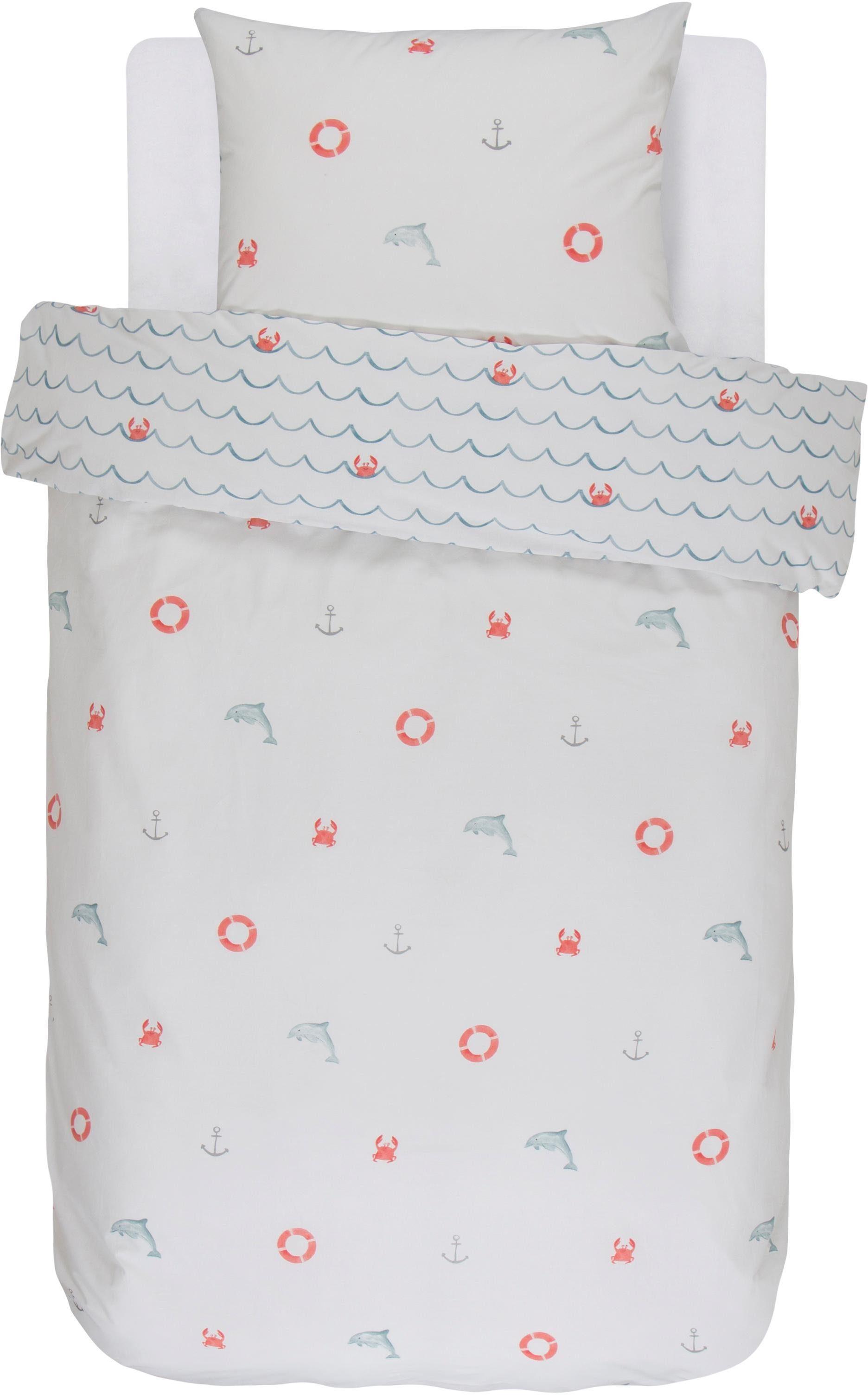 Kinderbettwäsche »Krabi«, Covers & Co, mit martimen Gegenständen