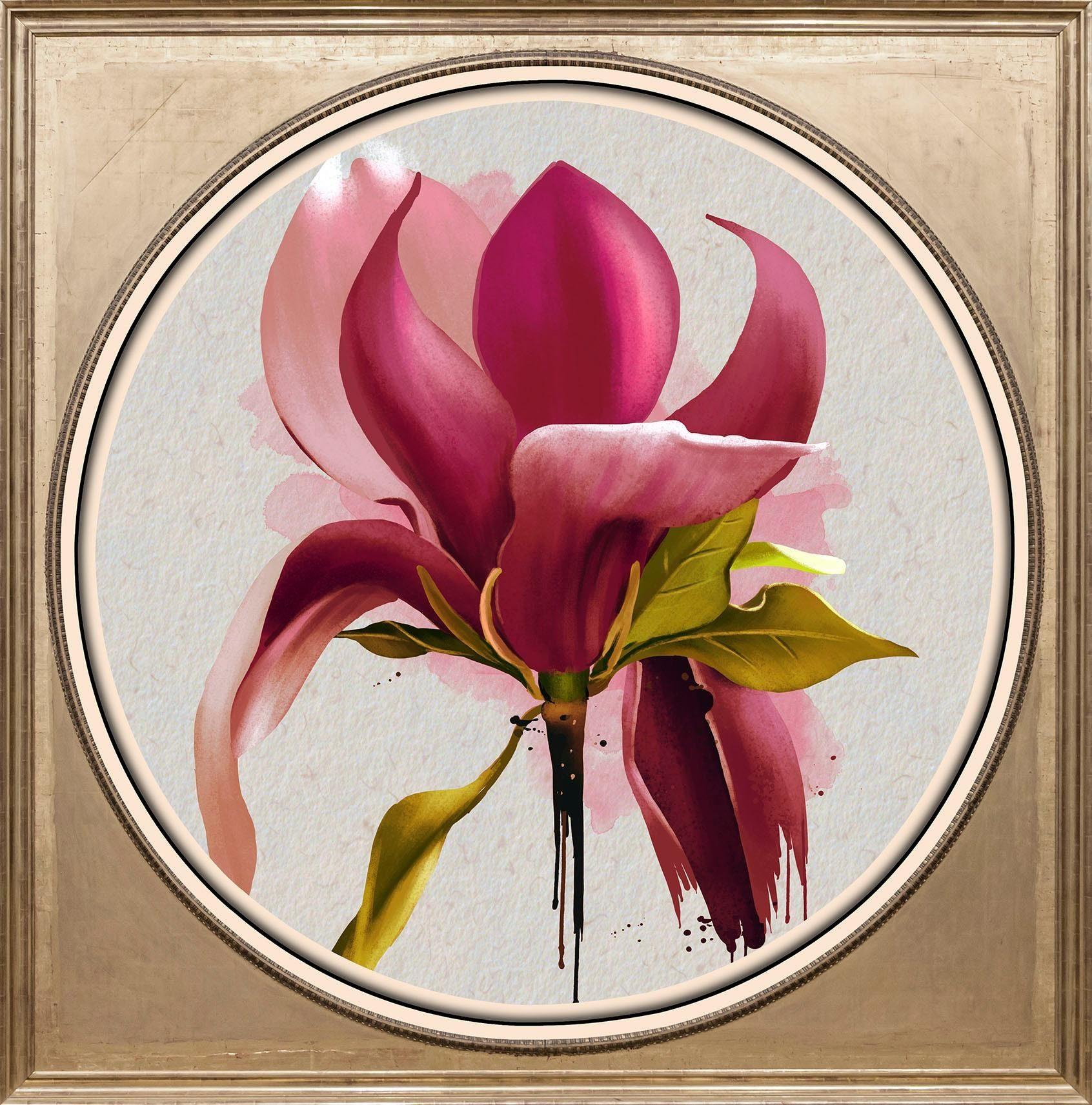 Acrylglasbild »Magnolie«