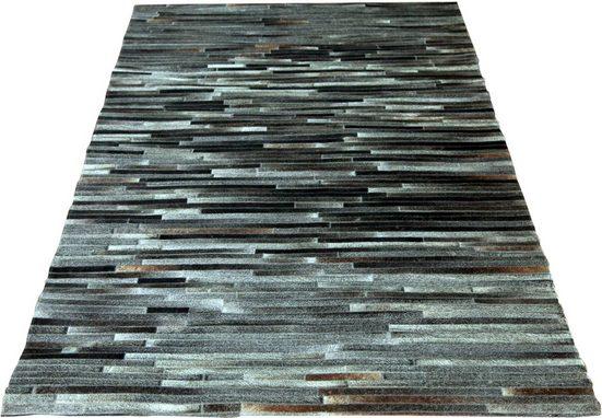 Fellteppich »Myrkvi«, SIT, rechteckig, Höhe 8 mm, echtes Rinderfell