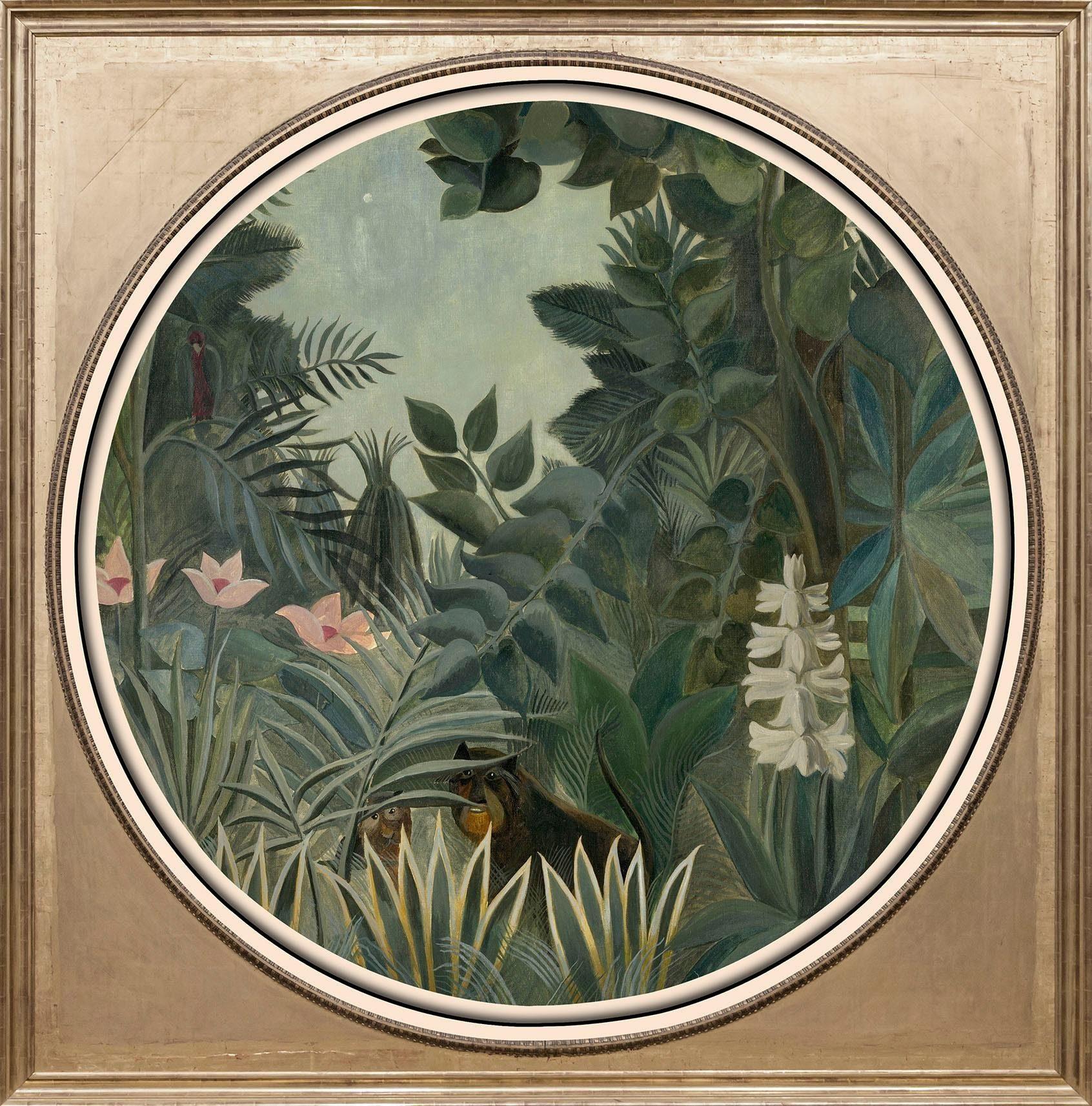 Acrylglasbild »Dschungel«