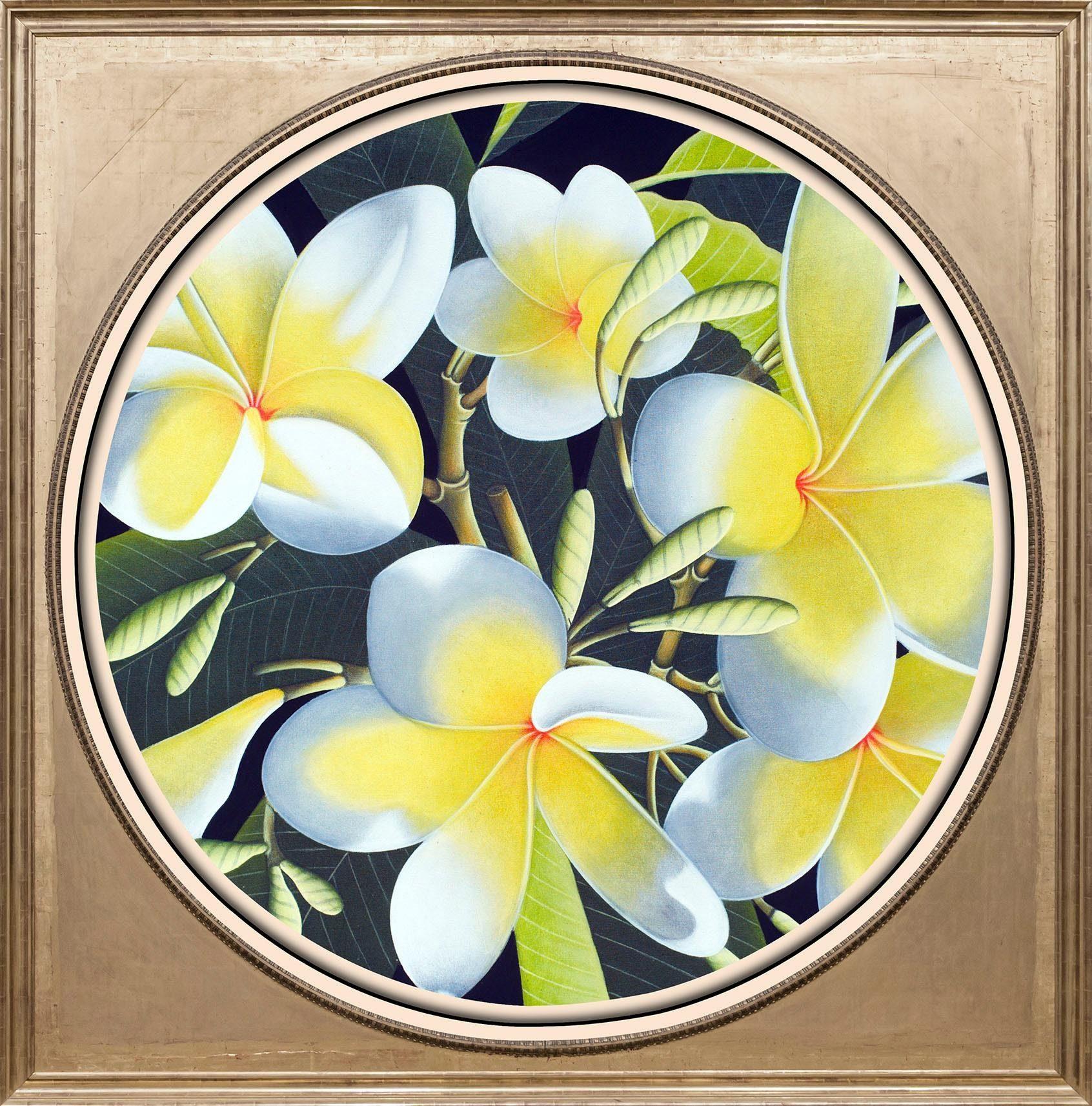 Acrylglasbild »Gelbe Blüten«