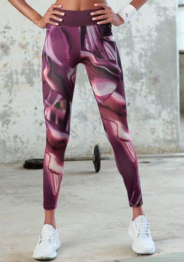 LASCANA Leggings »Like a Feather« mit breitem Bund