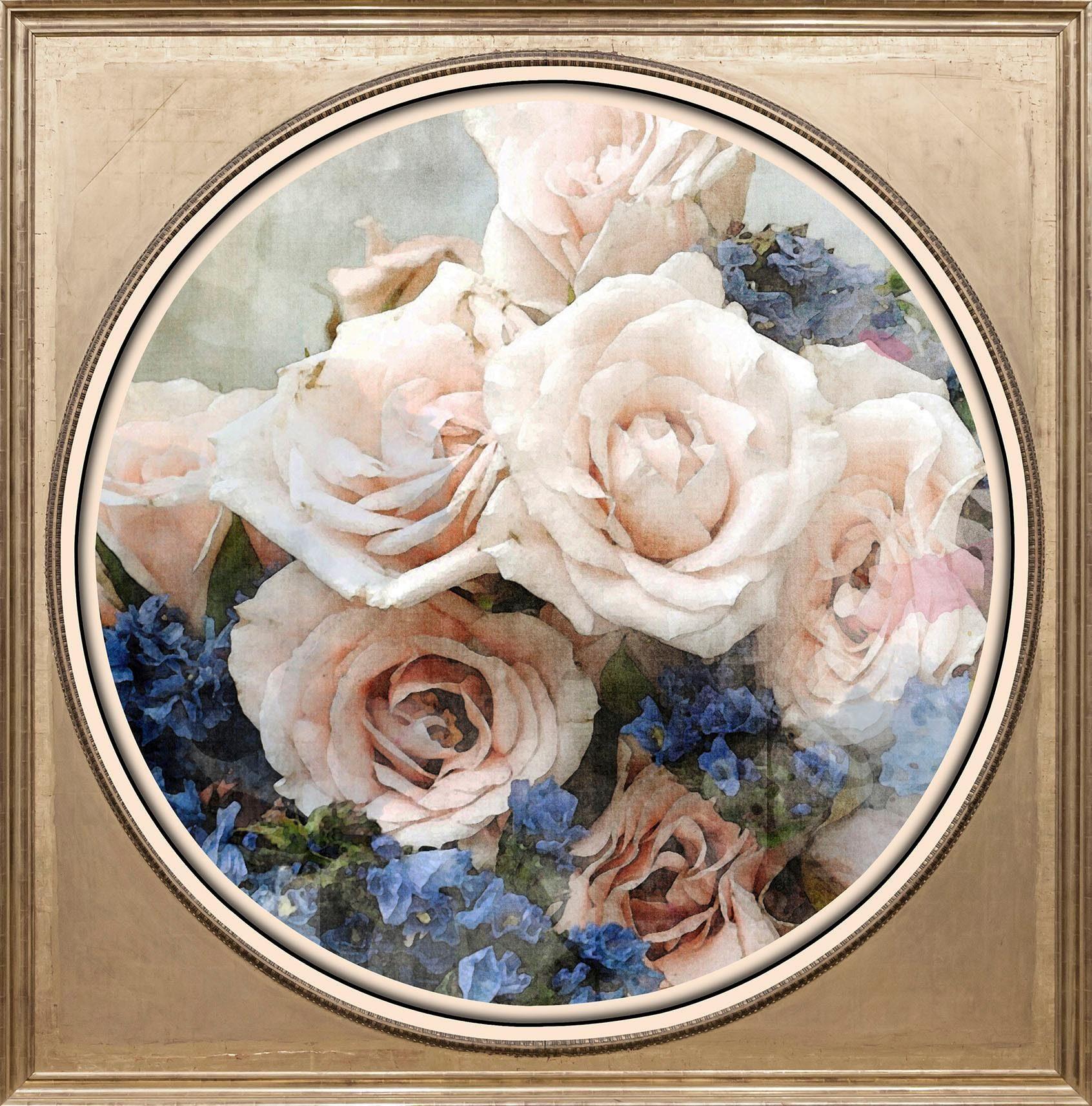 Acrylglasbild »Bunter Blumenstrauß III«, Blumen