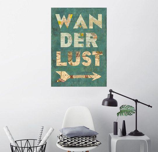 Posterlounge Wandbild - GreenNest »Wanderlust«