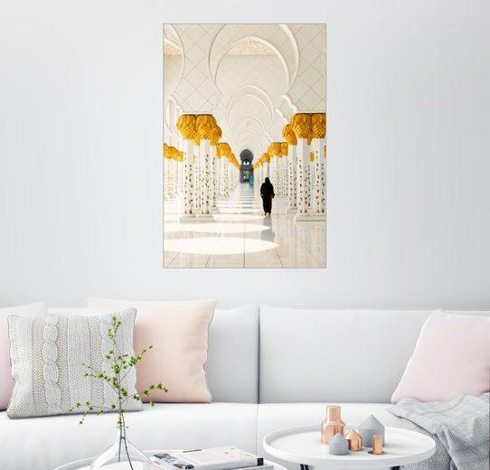 Posterlounge Wandbild »Sheikh Zayed Moschee in Abu Dhabi«