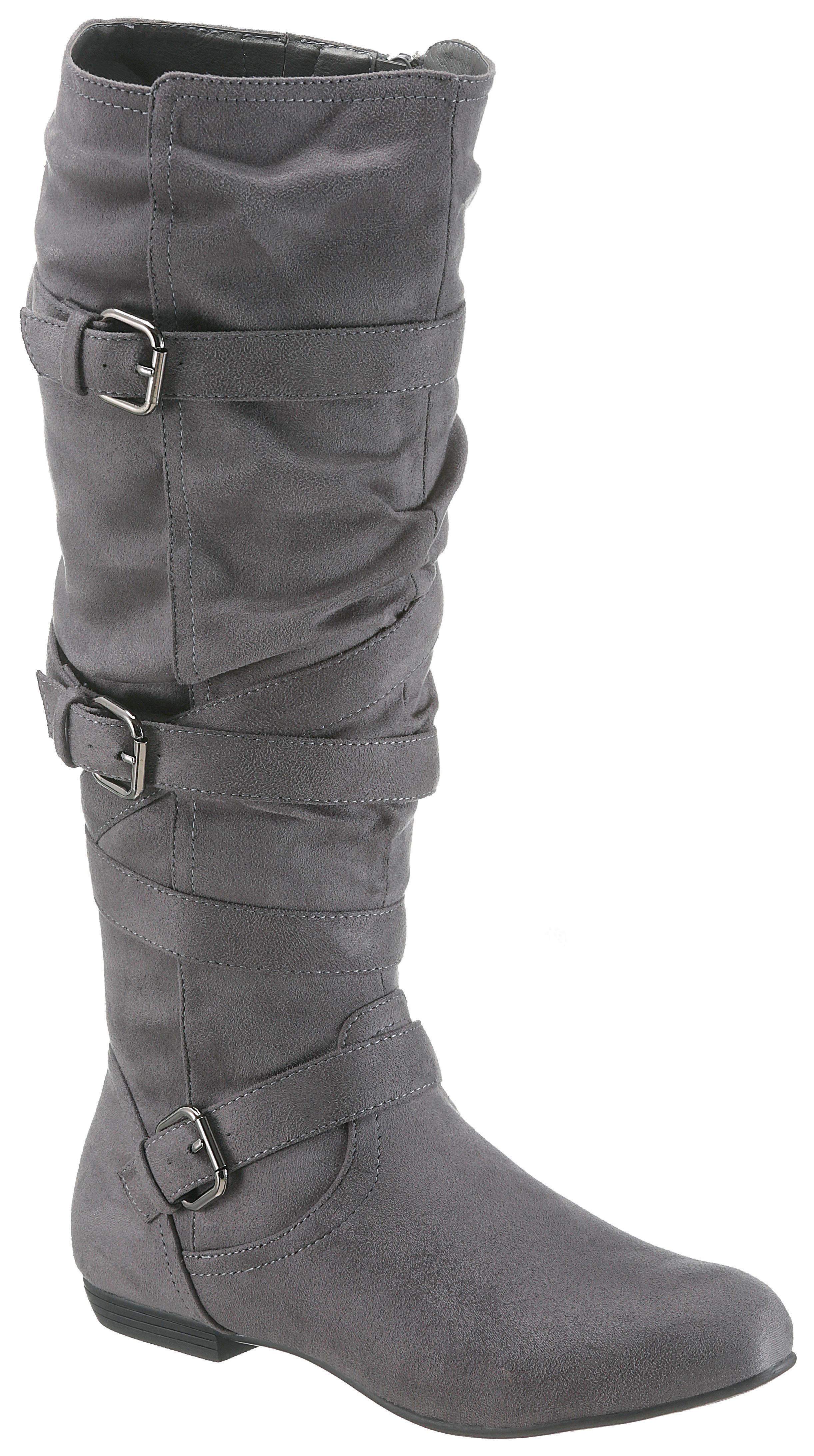 CITY WALK Stiefel mit verstellbaren Schnallen | OTTO