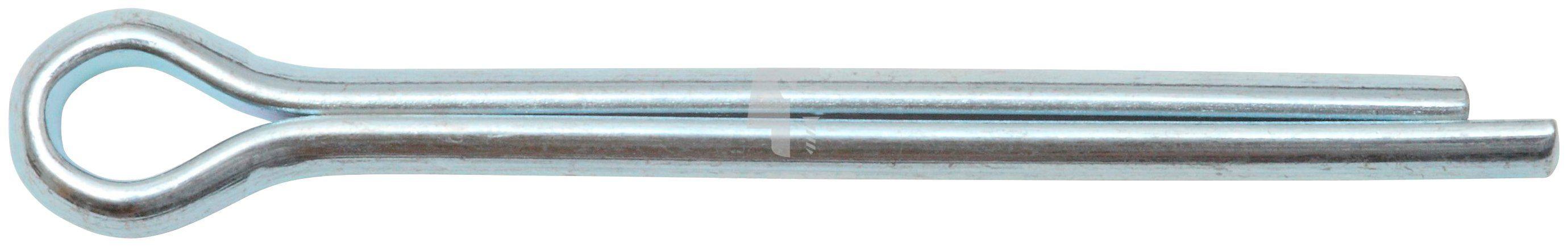 RAMSES Splint , DIN 94 4 x 50 mm Stahl verzinkt 100 Stück