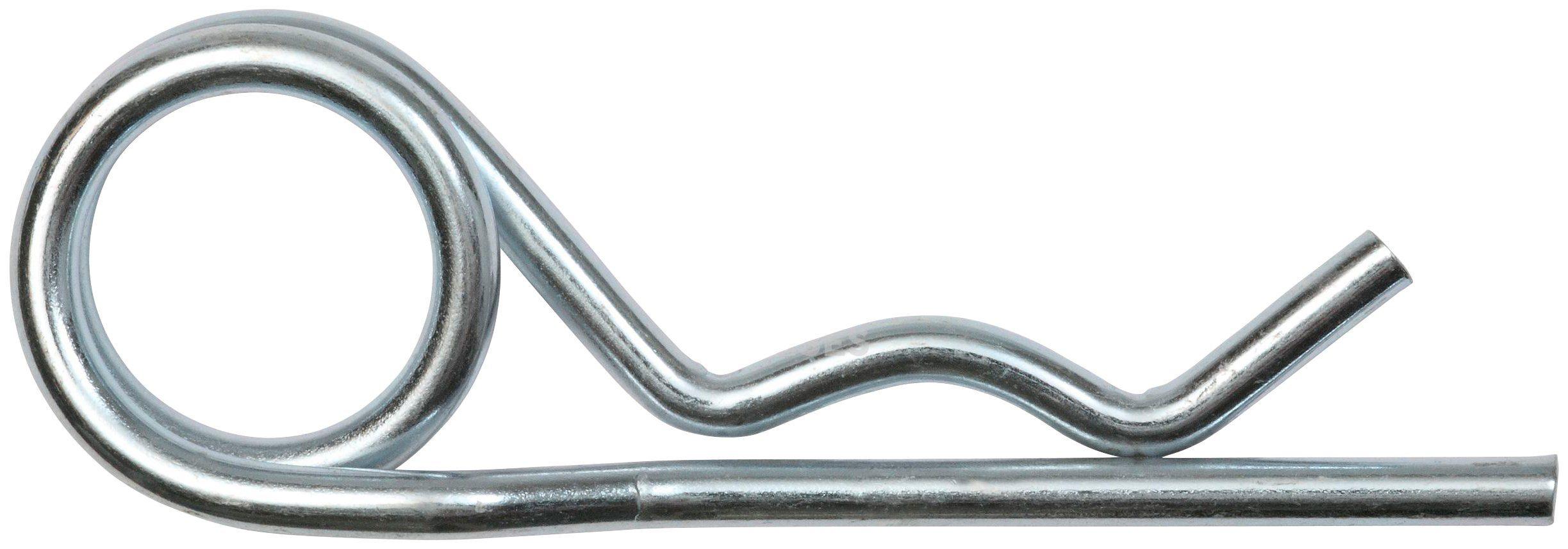 RAMSES Federstecker , doppelt 5,5 mm Stahl verzinkt 50 Stück