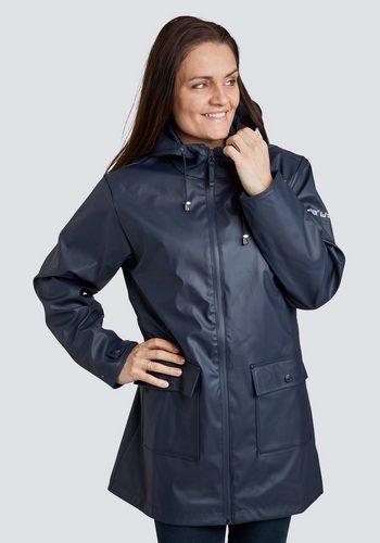 Damen windfield By DANWEAR Regenjacke In bequemer, modischer Passform blau | 05710289030180