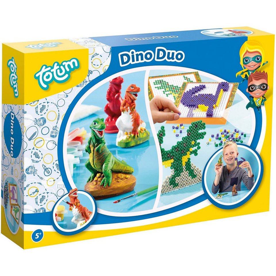 Totum 2in1 Dino Bügelperlen & Gips giessen kaufen