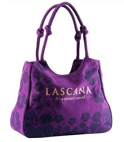 Strandtasche, LASCANA in lila
