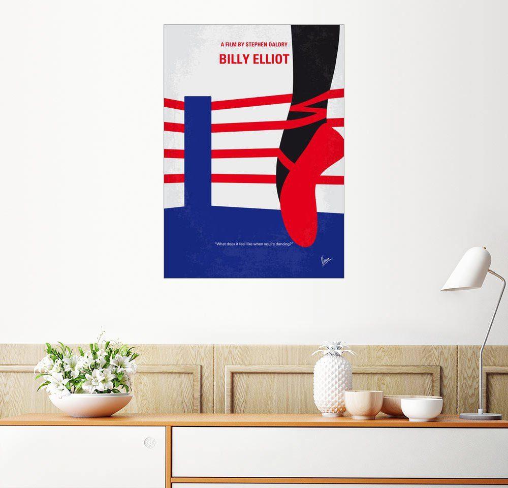 Posterlounge Wandbild - chungkong »No597 My Billy Elliot minimal movie poster«