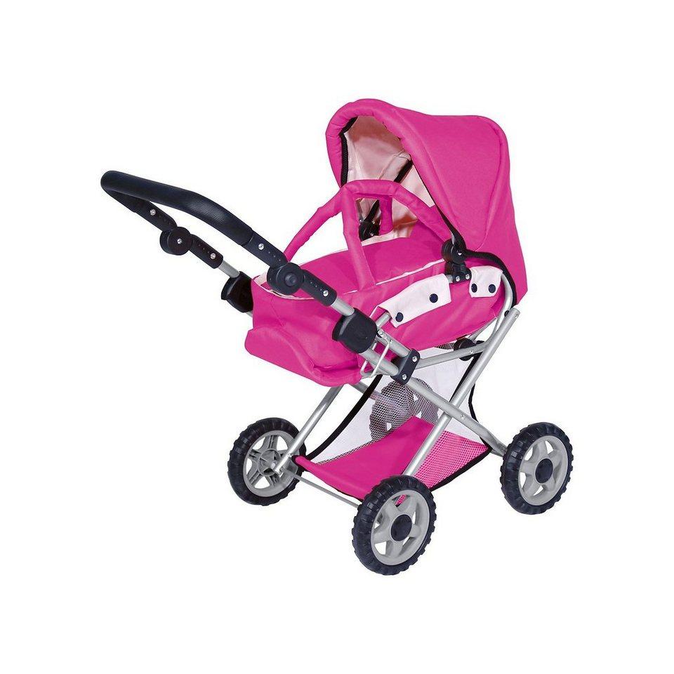 bayer kombi puppenwagen pink altersempfehlung ab 3 jahren online kaufen otto. Black Bedroom Furniture Sets. Home Design Ideas