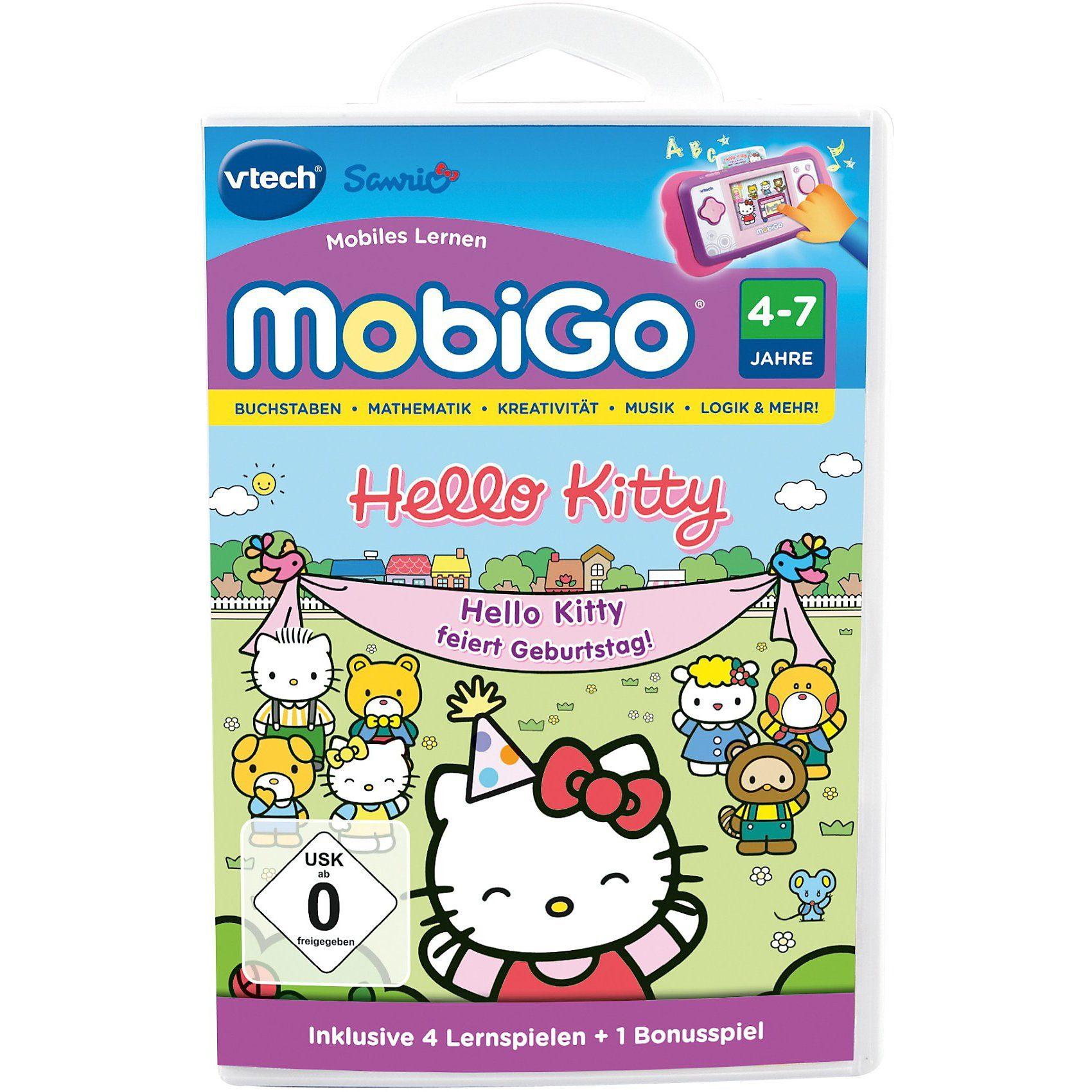 """Vtech® MobiGo Lernspiel """"Hello Kitty"""""""
