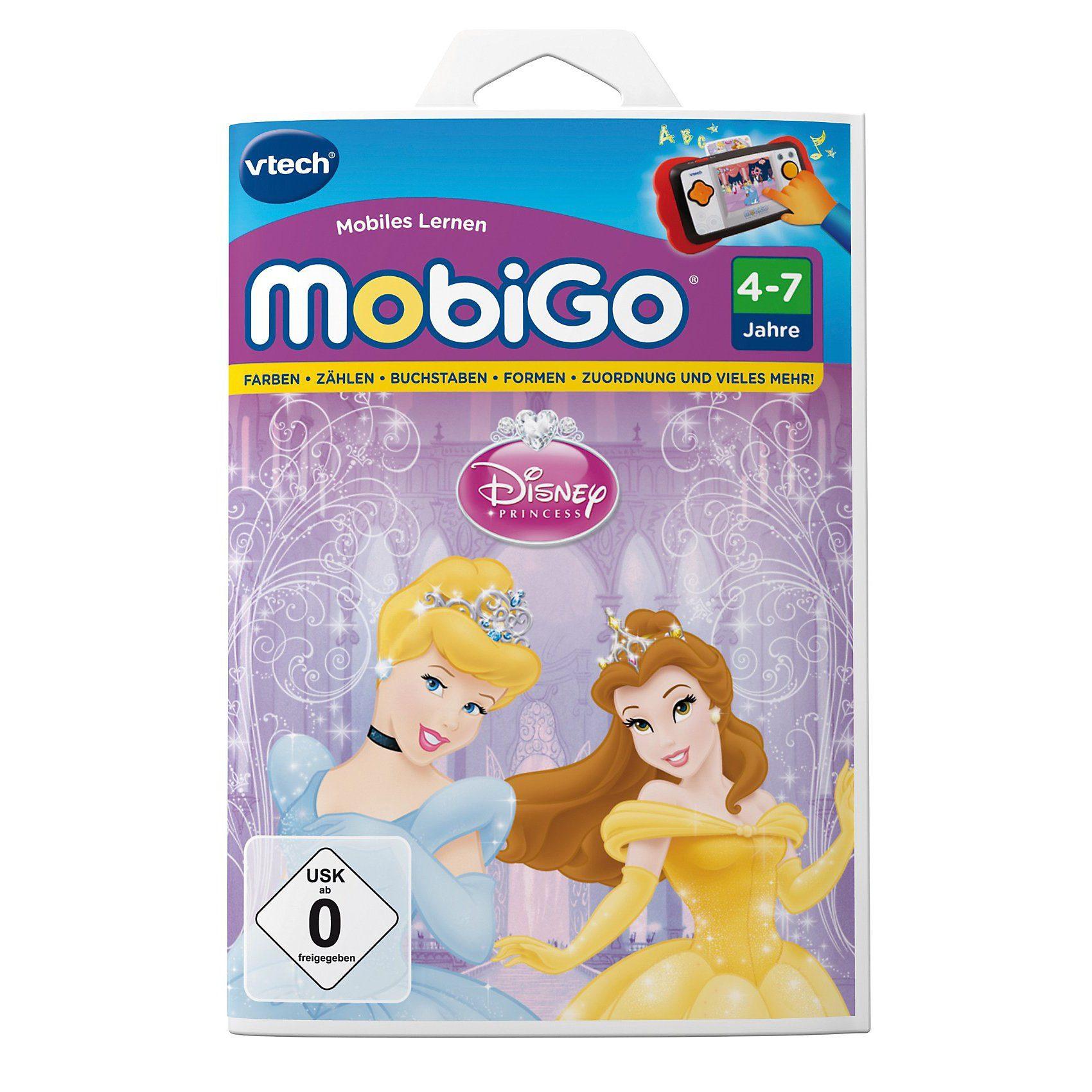 """Vtech® MobiGo Lernspiel """"Disney Princess"""""""