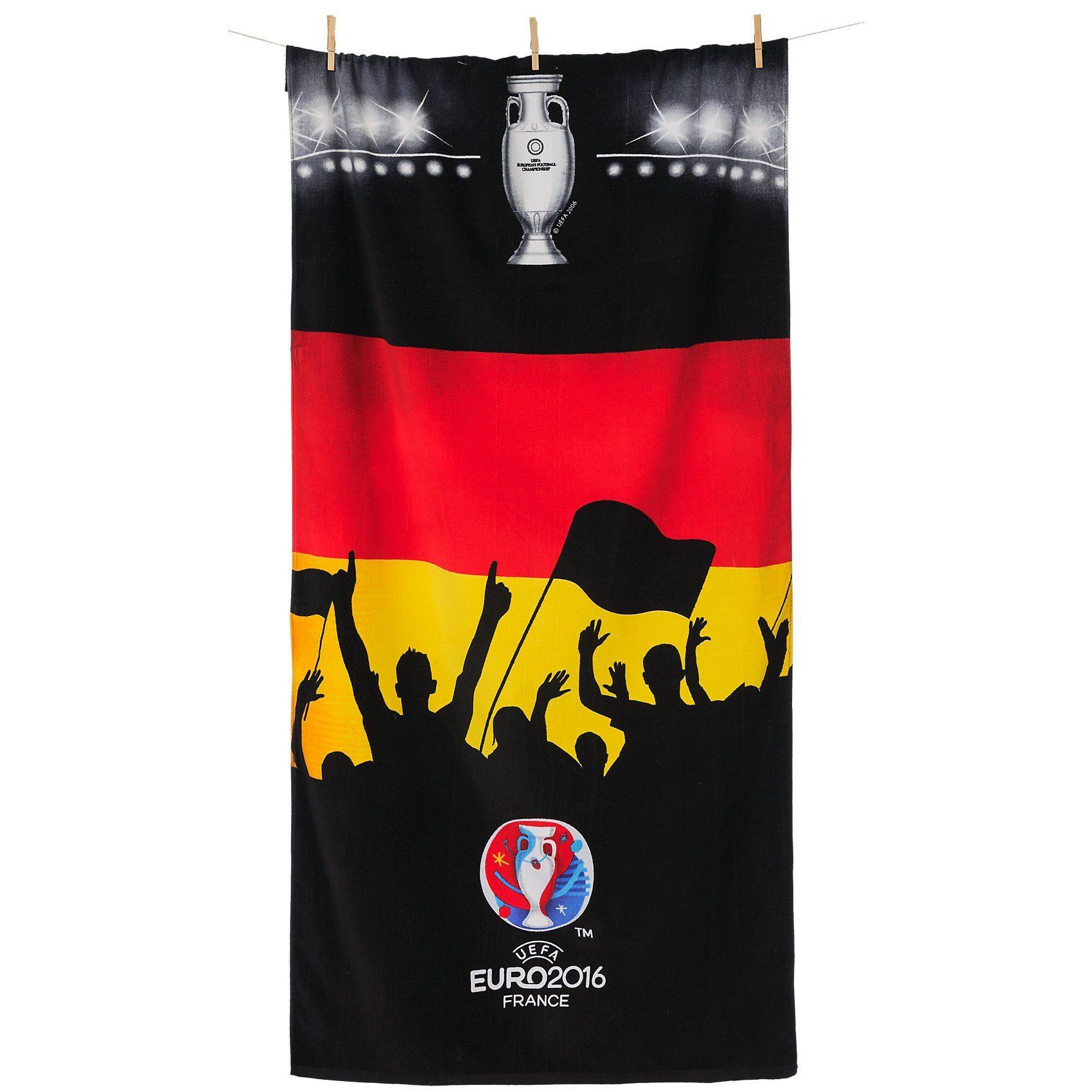 Deutscher Fußball-Bund Strand- & Badetuch EM 2016 Fanblock, 75 x 150 cm