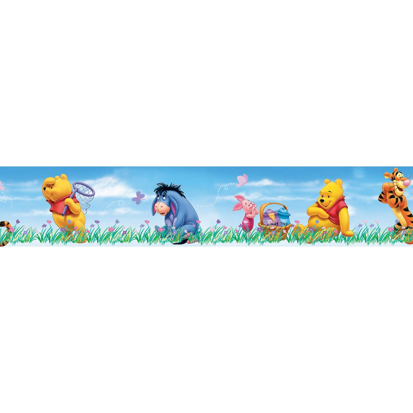 Decofun Bordüre Winnie the Pooh Beautiful Day