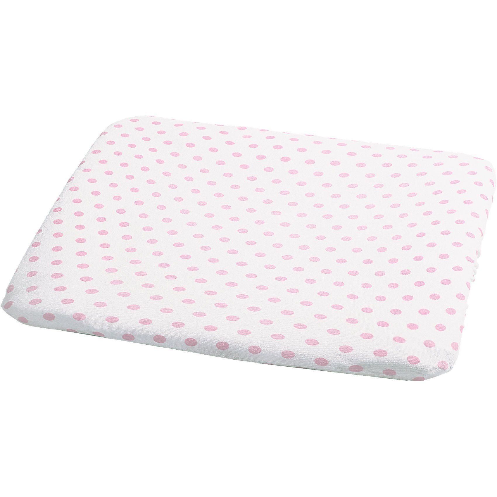 Odenw/älder Frottee-Bezug f/ür Wickelauflage Soft Pink