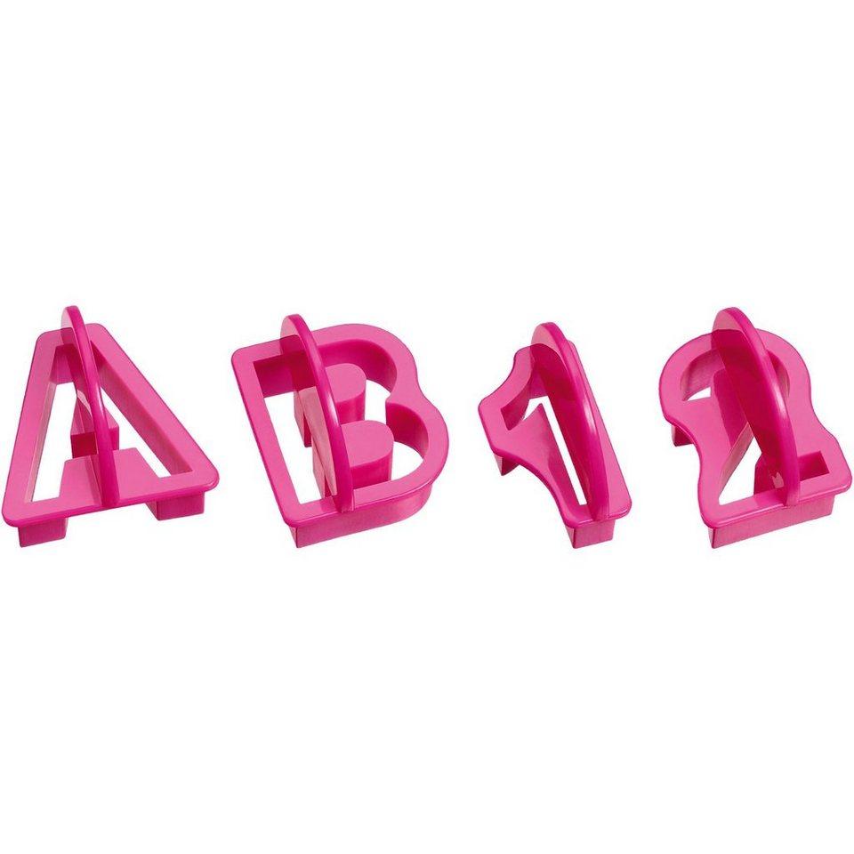 kaiser backformen alphabet und zahlenausstecher set 38 tlg online kaufen otto. Black Bedroom Furniture Sets. Home Design Ideas