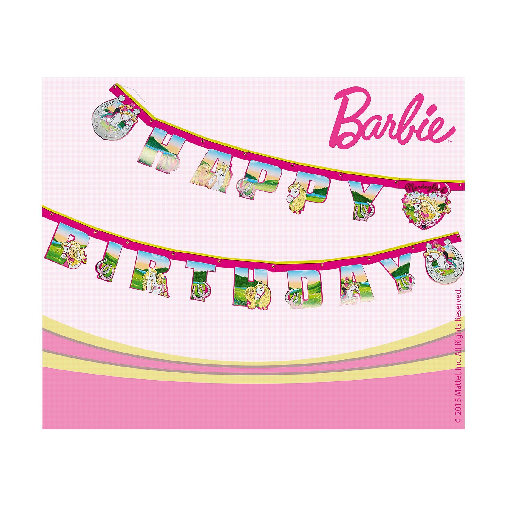 Happy People Partyset Barbie, 96-tlg.